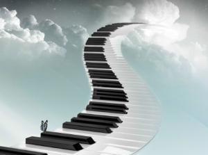 tastiera nel cielo